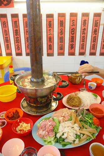 Steamboat - the everything in shot.